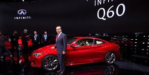 Carlos Ghosn at Detroit auto show