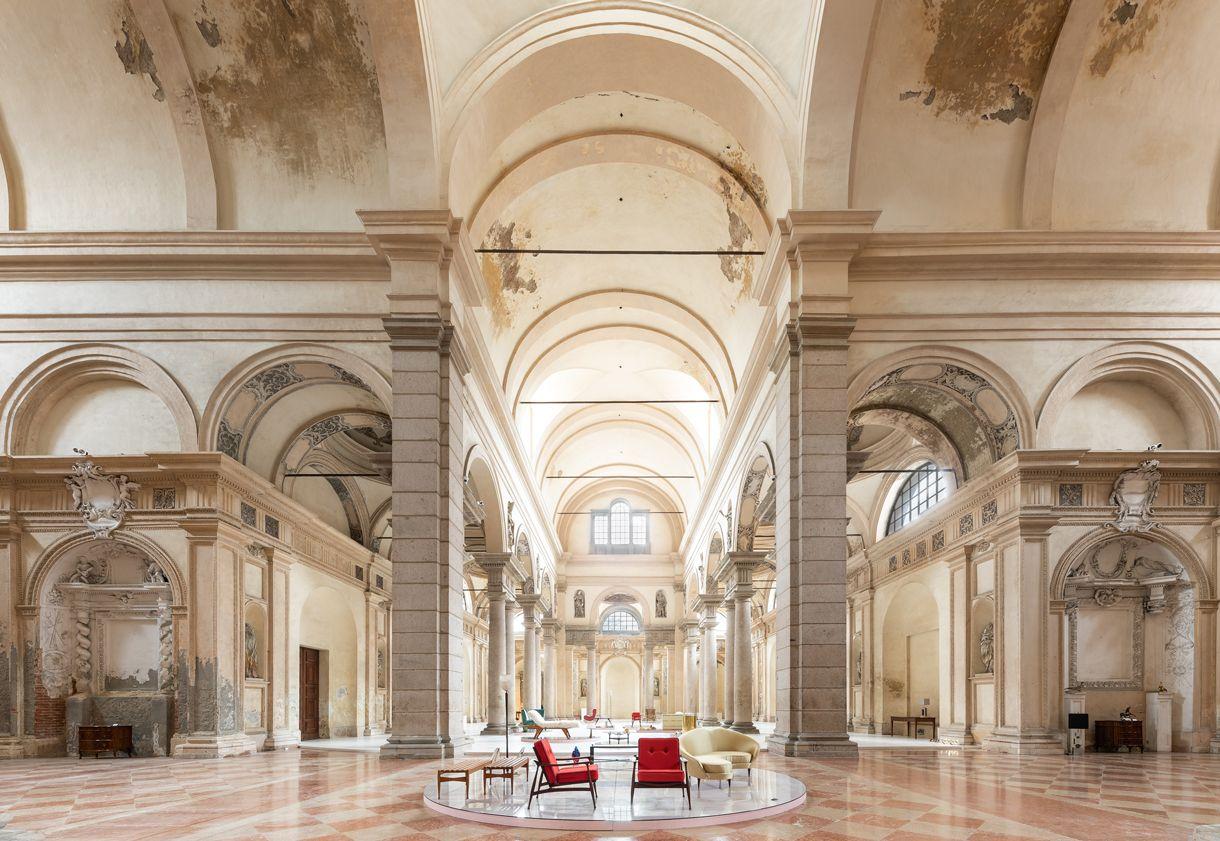 La chiesa sant agostino di piacenza rinasce grazie alla galleria