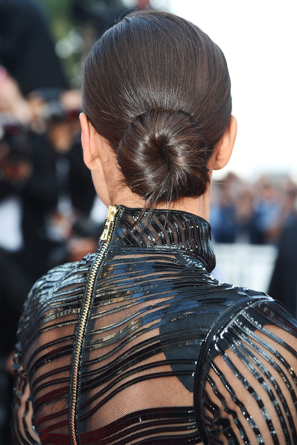 Ger Chignon Hairstyles
