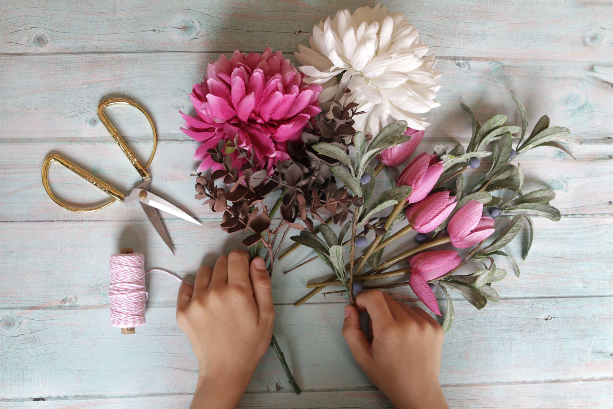 prendre un cours de composition florale