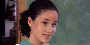 Young Meghan Markle