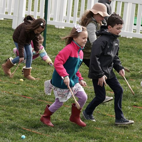 President And Mrs. Trump Host Annual White House Easter Egg Roll
