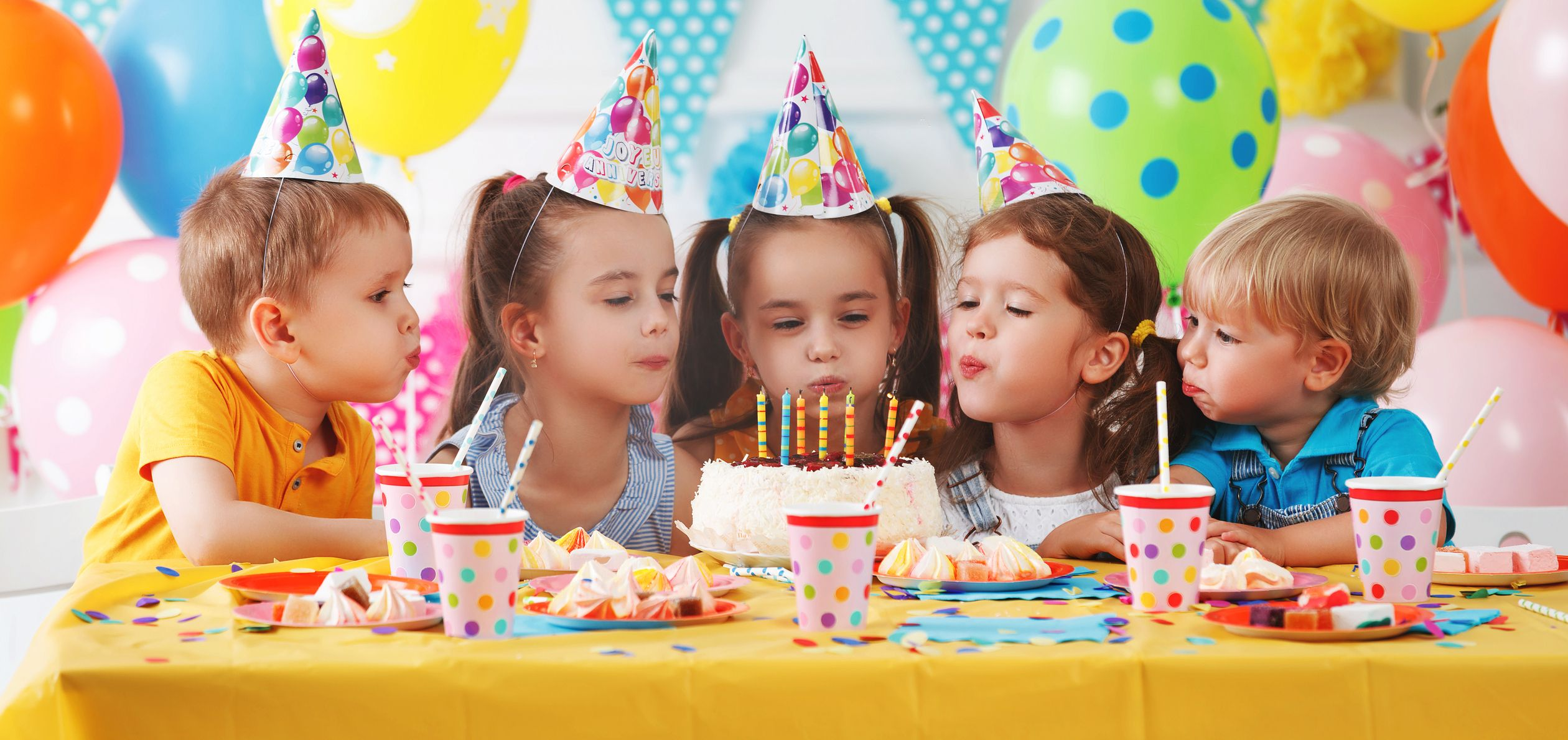 Fiver Parties Are The Newest Birthday Party Trend For Kids