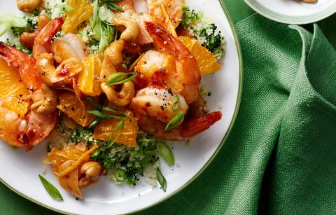 chili orange shrimp recipe