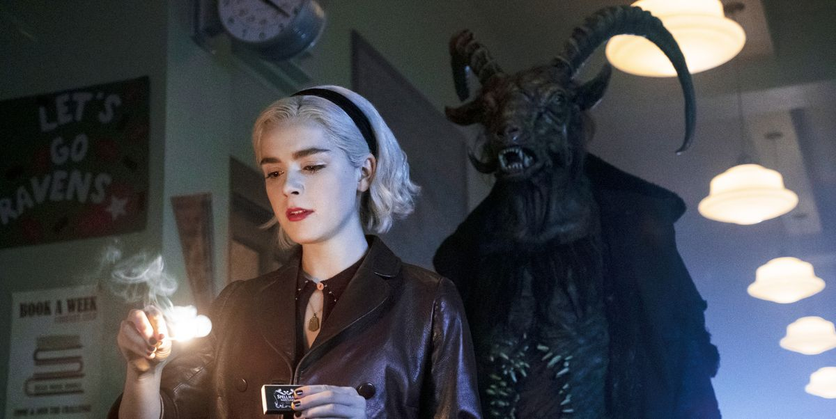 Image result for chilling adventures of sabrina season 2 poster