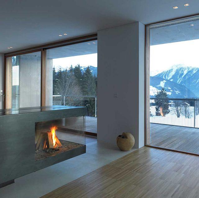 Fireplace, Property, House, Hearth, Room, Home, Interior design, Floor, Wood flooring, Living room,