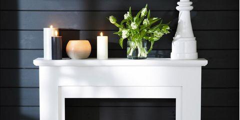 5 Ideas para decorar una falsa chimenea