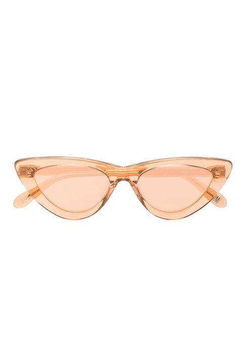 Eyewear, Sunglasses, Glasses, Personal protective equipment, Vision care, aviator sunglass, Peach, Beige, Fashion accessory,
