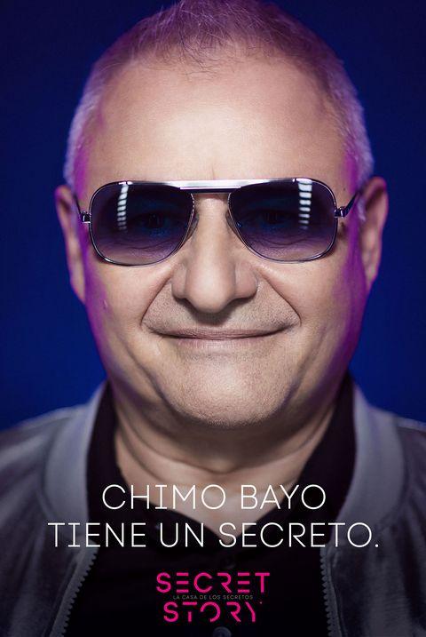 chimo bayo, concursante de 'secret story'