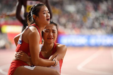 China 4x100m, Doha 2019