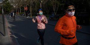 Chengdu Panda Mini Maratón China Coronavirus
