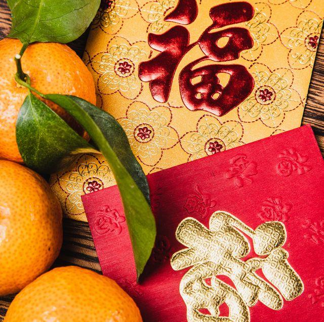 chinese new year celebration still life