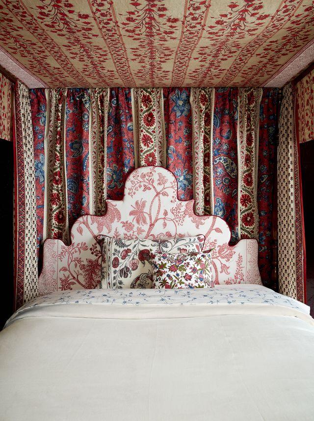 chintz canopy bed by sara clark