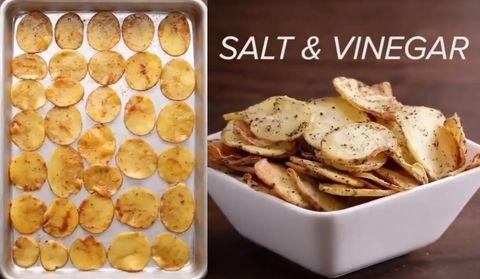 自製烤薯片