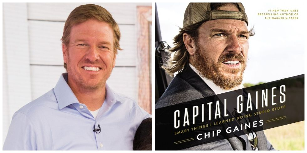 Chip Gaines Jokes About His Book Capital Gaines Going On Sale