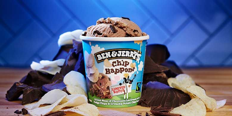 Ben & Jerry's Released A New Flavor That's Packed With Potato Chips And Chocolate