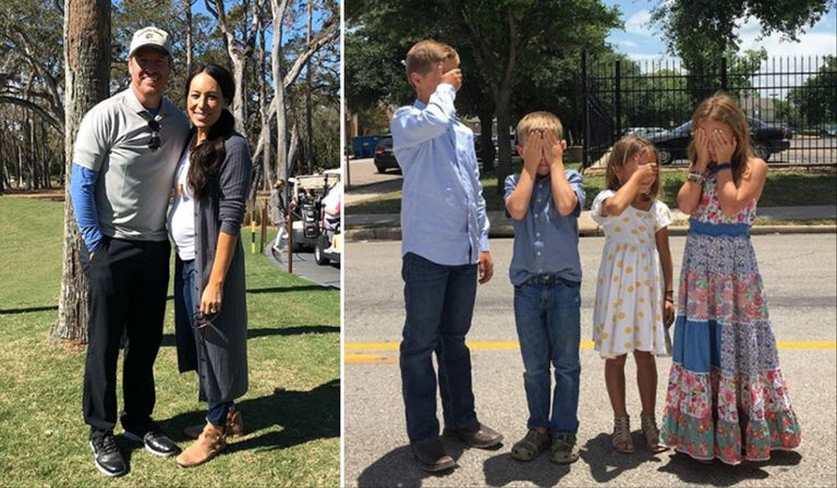 chip and joanna gaines are having a baby boy the 39 fixer upper 39 stars reveal baby 39 s gender. Black Bedroom Furniture Sets. Home Design Ideas