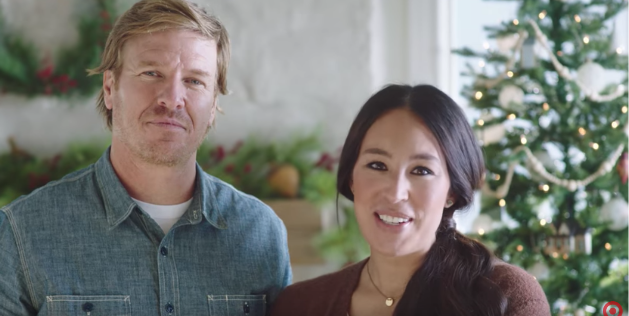 chip and joanna gaines target christmas