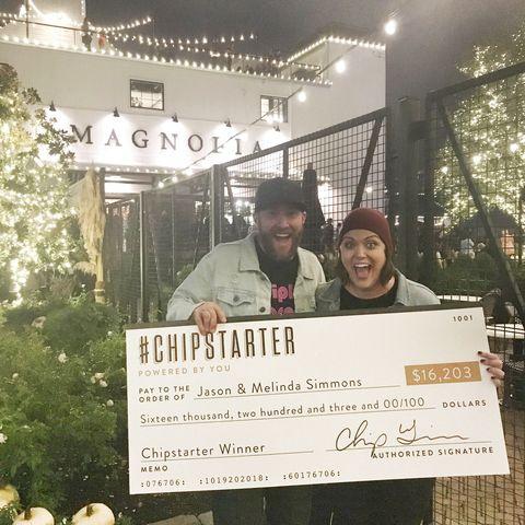 chip joanna gaines fund adoption