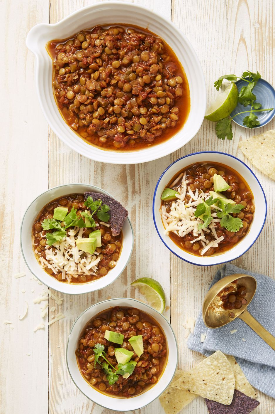 Chipotle Lentil Chili - Instant Pot Soups