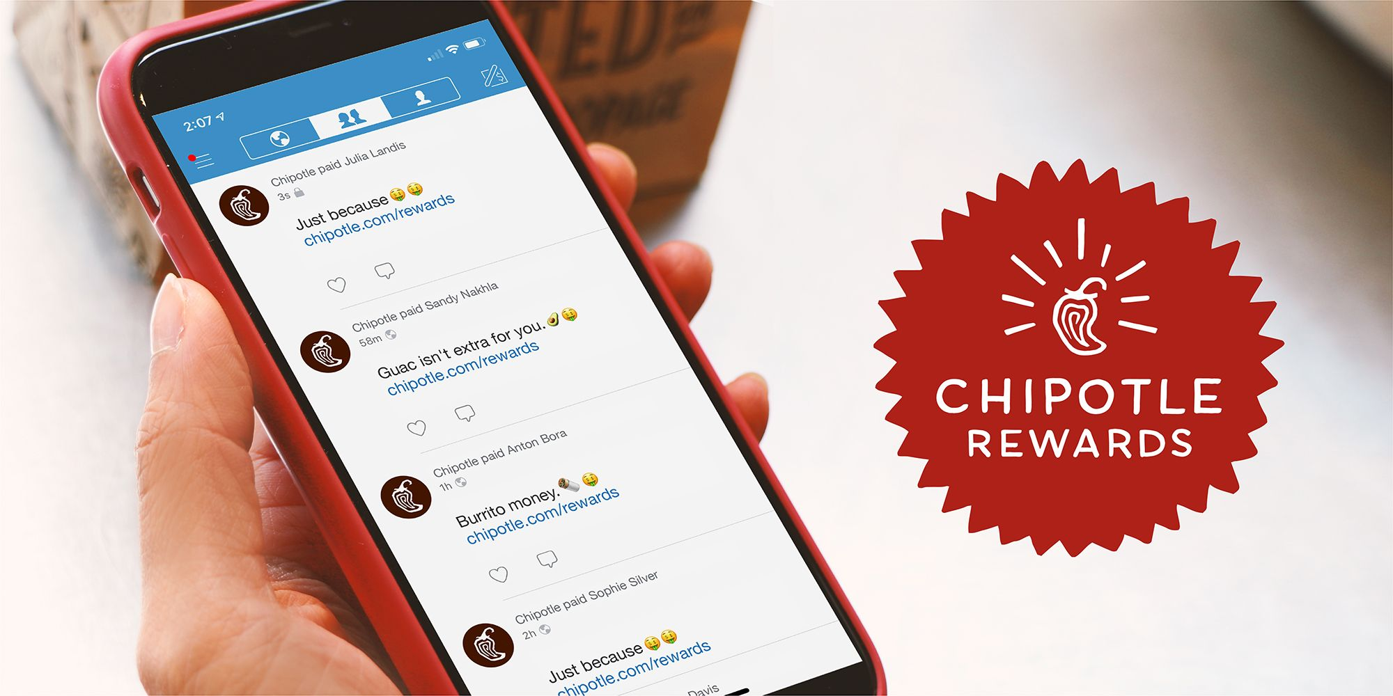 Chipotle Rolls Out Nationwide Rewards Program - Chipotle