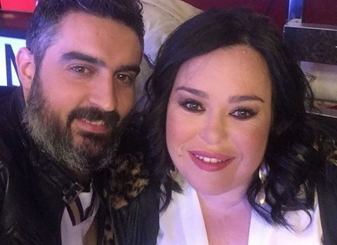 Almudena Martínez 'Chiqui' y su ex marido, Borja Navarro