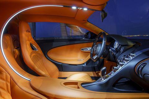 Land vehicle, Vehicle, Car, Personal luxury car, Bugatti, Luxury vehicle, Concept car, Steering wheel, Automotive design, Supercar,