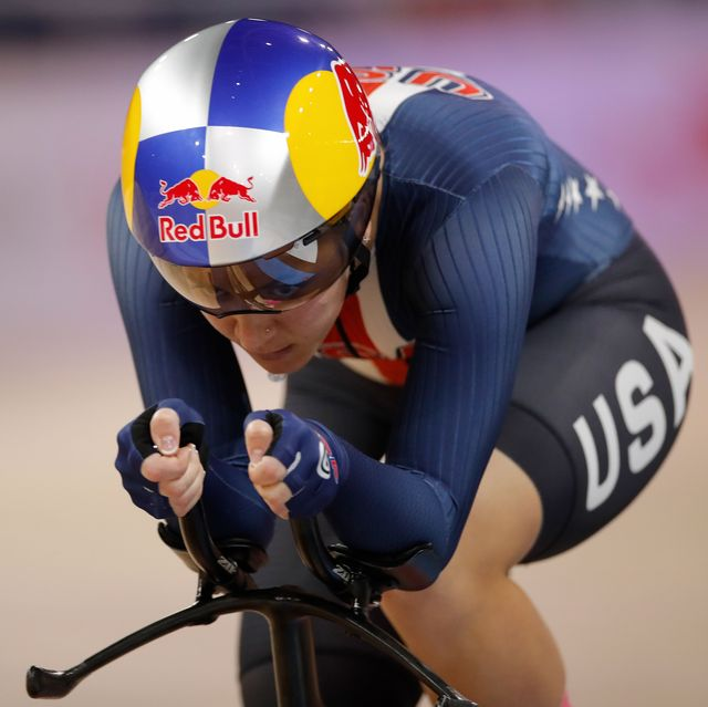 chloe dygert at the 2020 uci track world championships