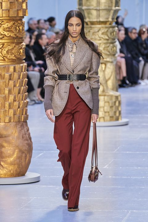 Chloé Herfst/Winter 2020 show op Paris Fashion Week.
