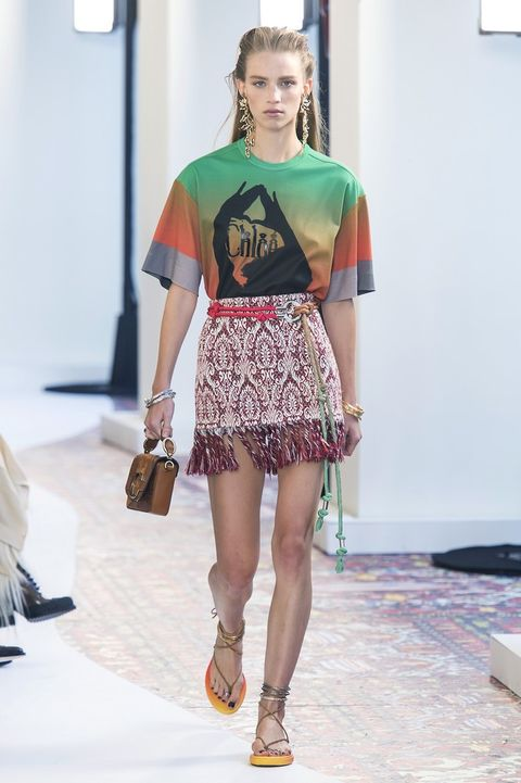 Fashion, Fashion model, Fashion show, Runway, Clothing, Fashion design, Shoulder, Footwear, Sandal, Shorts,