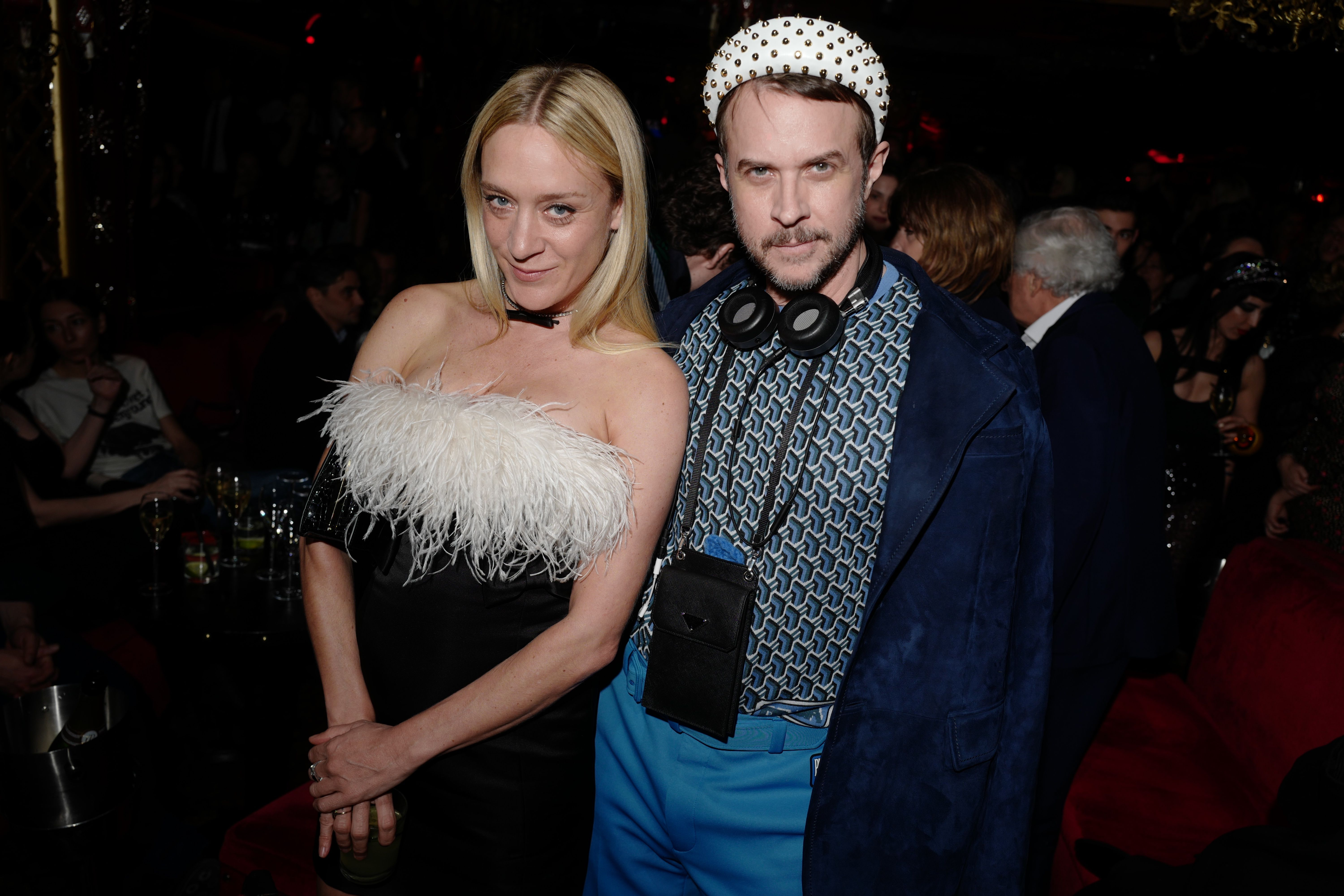 Chloë Sevigny and Casey Spooner Chloë Sevigny and Casey Spooner attend the Miu Miu Club, following the Fall Winter 2019 show, at 'Raspoutine' in Paris on March 5.