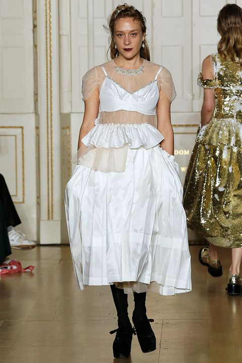 2a167a07fea Chloe Sevigny stars in Simone Rocha s gloriously diverse catwalk show