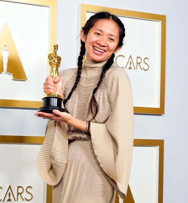 Chloé Zhao Is First Woman of Color, Second Woman Ever to Win Best Director  Oscar