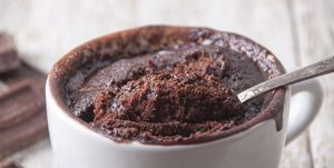 Recept Havermout Chocolade Mug Cake