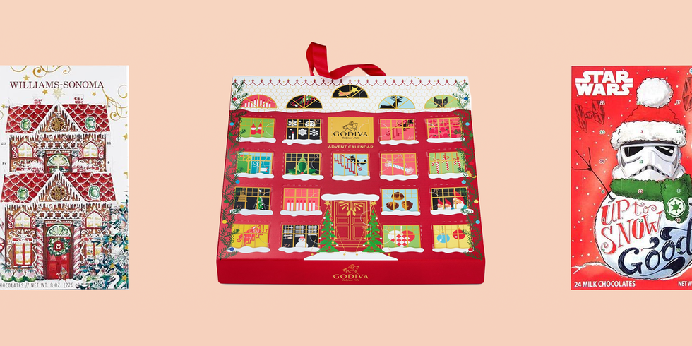 15 Chocolate Advent Calendars for People Who Want a Sugar-Filled Christmas Countdown