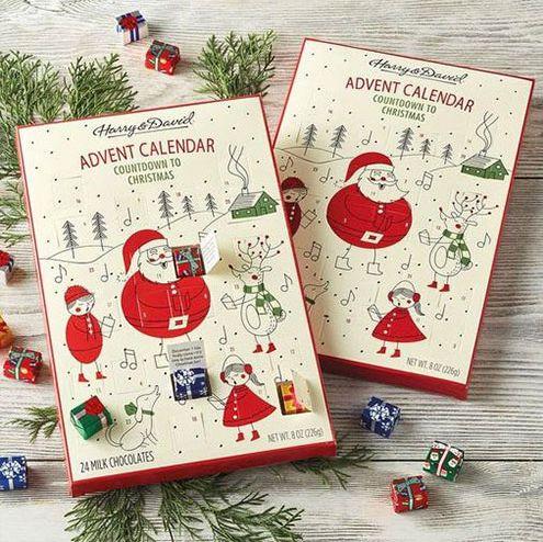 chocolate advent calendars