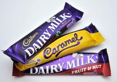 chocolate bars Dairy Milk by Cadbury