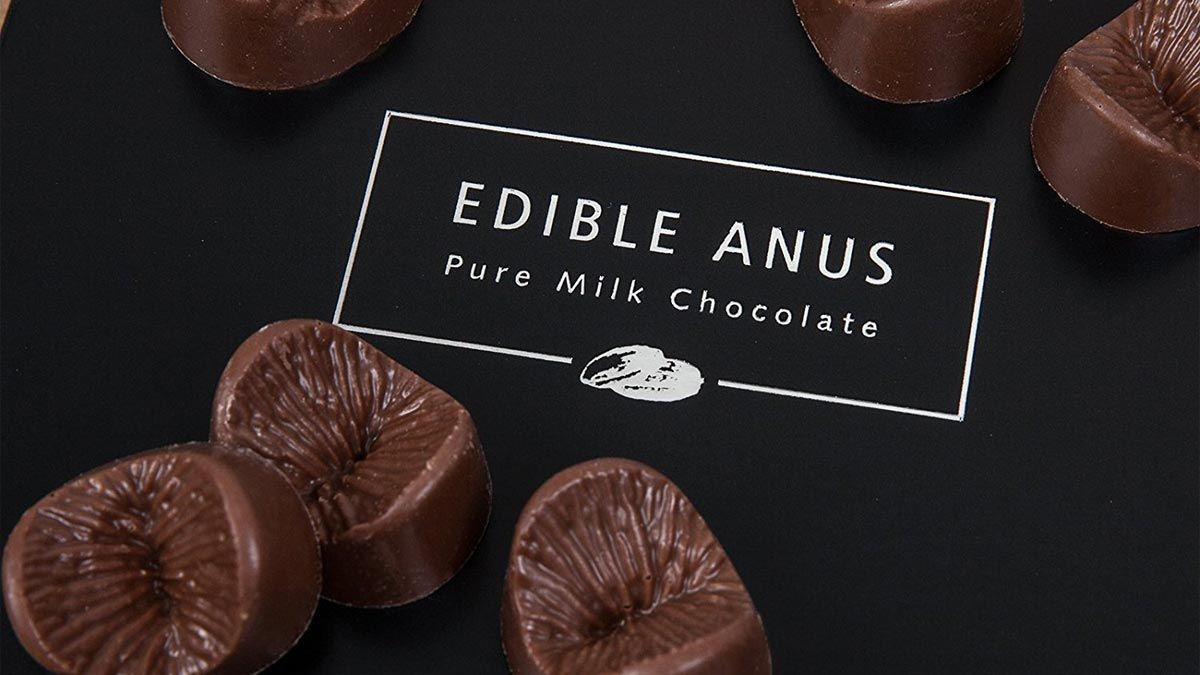 Hey, Guys, What's Up? You Can Get Everyone You Love A Chocolate Butthole  For Valentine's Day