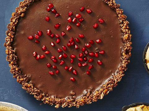 chocolate ganache tart vegan