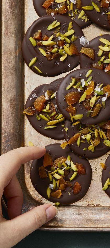Vegan Recipes - Chocolate Mendiants