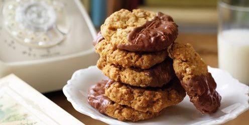 Chocolate Oat Biscuits Recipe