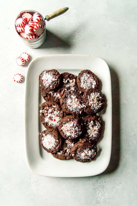 Vegan Peppermint Cookies