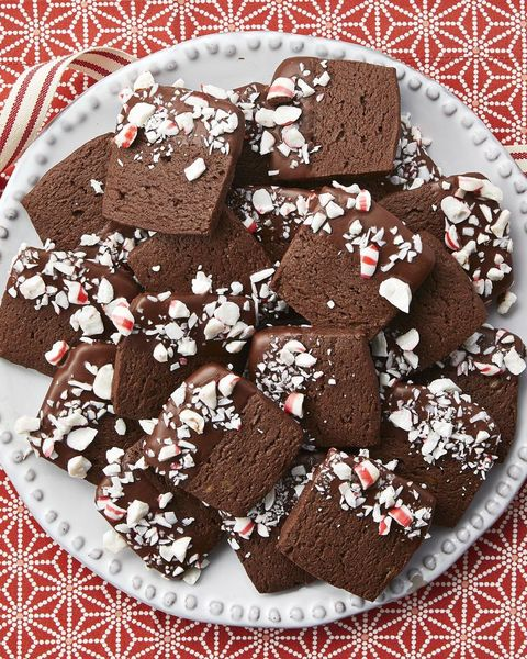 chocolate peppermint slice and bake christmas cookies