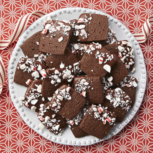 chocolate peppermint slice and bake cookies