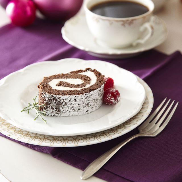 chocolate raspberry roll