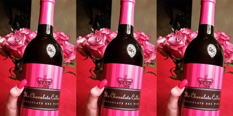 Bottle, Pink, Drink, Alcoholic beverage, Wine bottle, Wine, Product, Glass bottle, Alcohol, Liqueur,