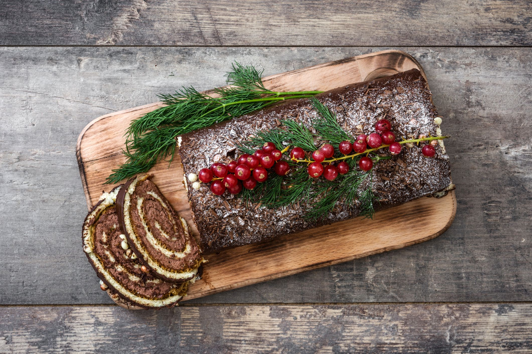 This is the best yule log for Christmas