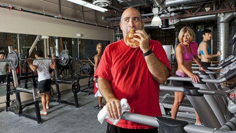Snacken tijdens het sporten