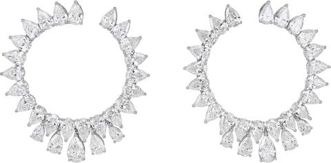 chopard eco diamond earrings