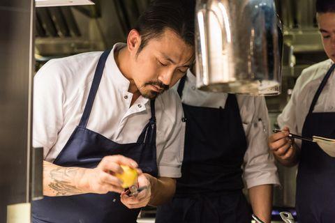 米其林餐盤推薦「chou chou法式料理餐廳」推出秋季新菜:「鴨肉捲、香煎鴨肝、嫩煎鱒魚」溫暖上桌